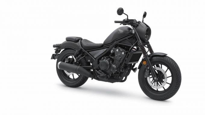 Honda Rebel 2020 vista laterale