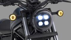 Honda Rebel 500: fari e frecce a LED
