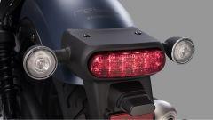 Honda Rebel 500: il faro posteriore a LED