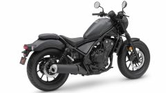 Honda Rebel 500 Plus: posteriore
