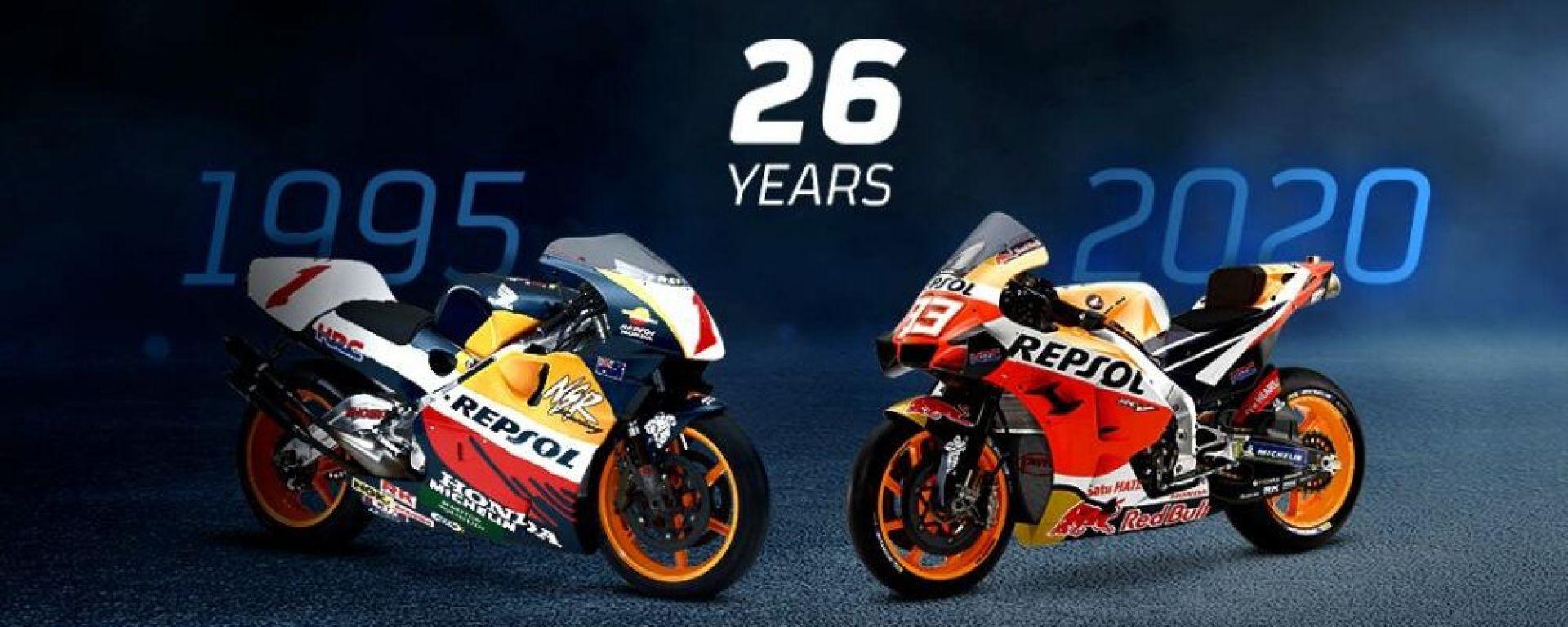 Honda Repsol 26 anni insieme
