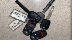 Honda S2000 CR: le doppie chiavi