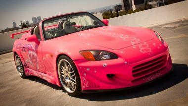 Honda S2000 Fast&Furios: la sportiva giapponese vestita di rosa per il sequel