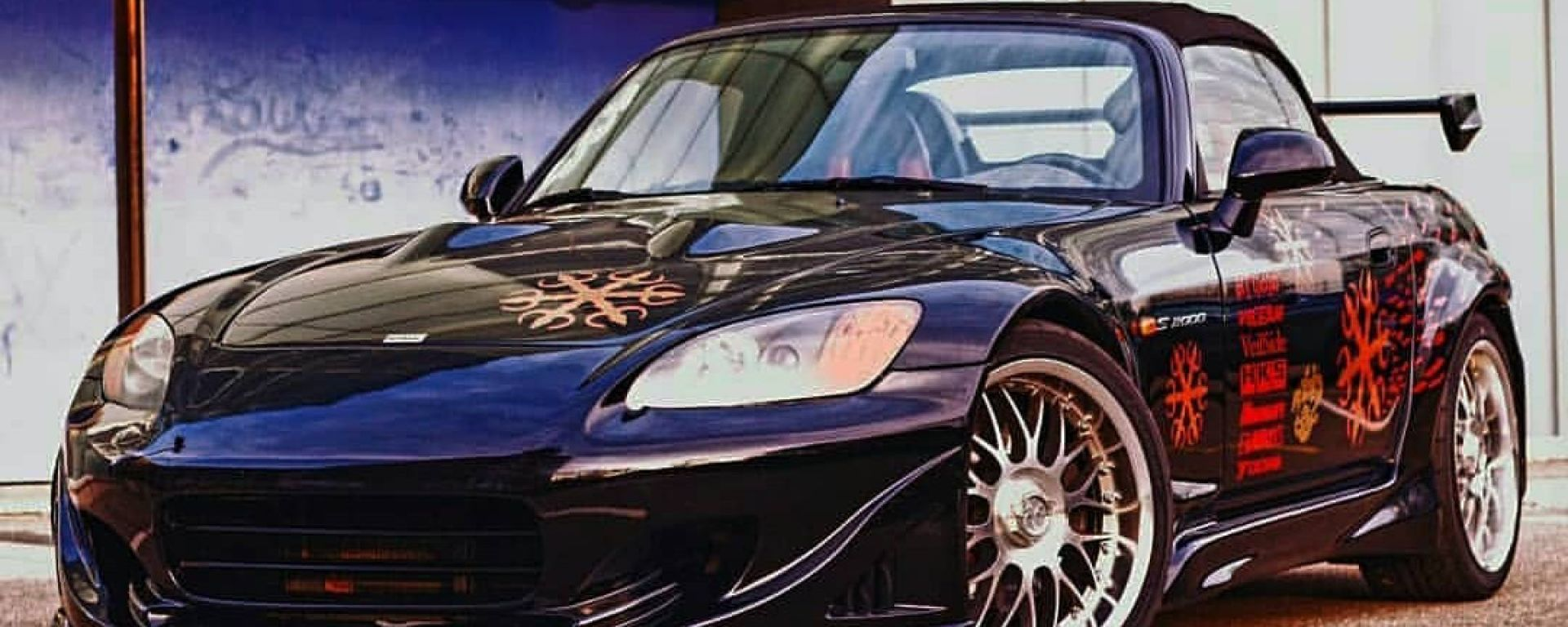 Honda S2000 Fast&Furious: la sportiva giapponese preparata per il primo film