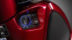 Honda SH 2019: il blocchetto di accensione Keyless