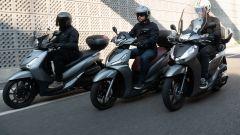 Honda, Kymco, Sym: la comparativa scooter 300 a ruote alte - Immagine: 1