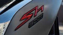Honda SH 300i Sport 2019, la sigla del modello