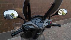Honda SH 300i Sport, dettaglio del parabrezza