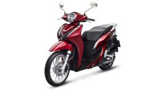 Honda SH Mode 125 2021: disponibile anche in rosso Candy Noble Red