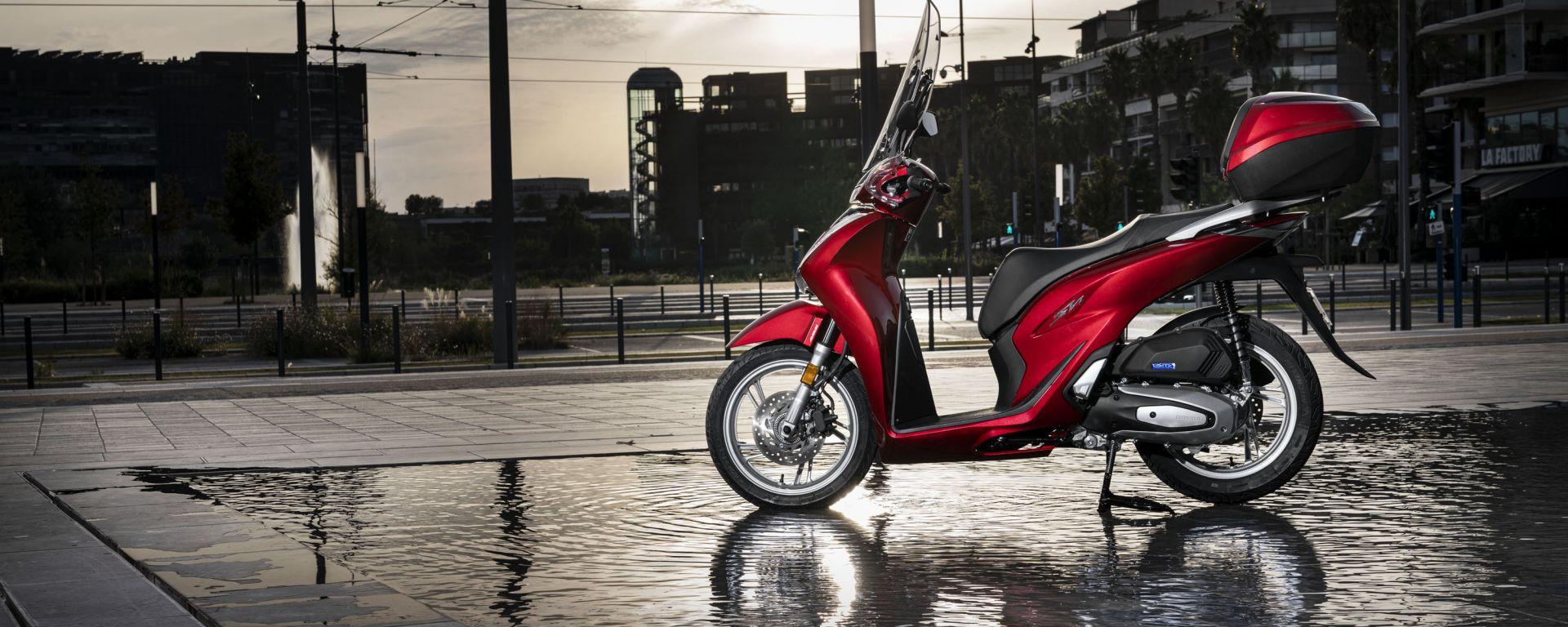 Honda SH: tutto nuovo a EICMA 2019