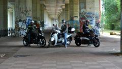 Honda SH300i sfida Piaggio Beverly 300 e Yamaha X-Max 300 - Immagine: 1