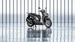 Honda SH350i 2021: la colorazione grigia