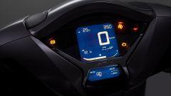 Honda SH350i 2021: la strumentazione LCD
