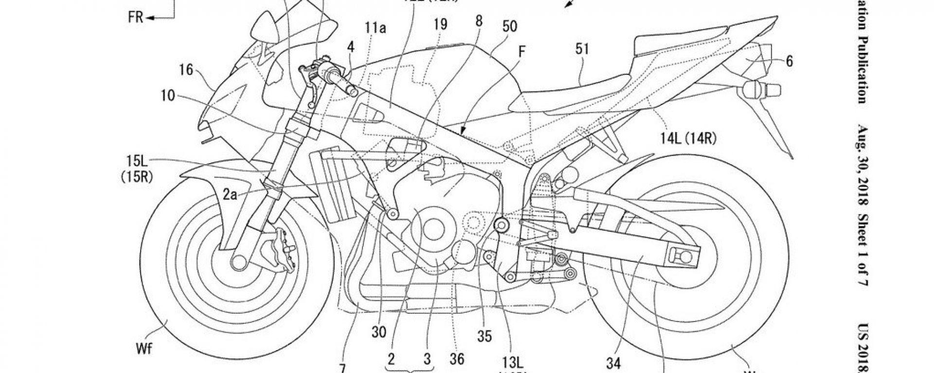 Honda: si studia un telaio con rinforzi in fibra di carbonio