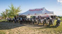 Honda True Adventure Offroad Academy, partenza