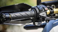 Honda X-ADV: comandi al manubrio, lato sinistro