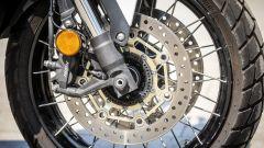 Honda X-ADV: dettaglio del freno anteriore