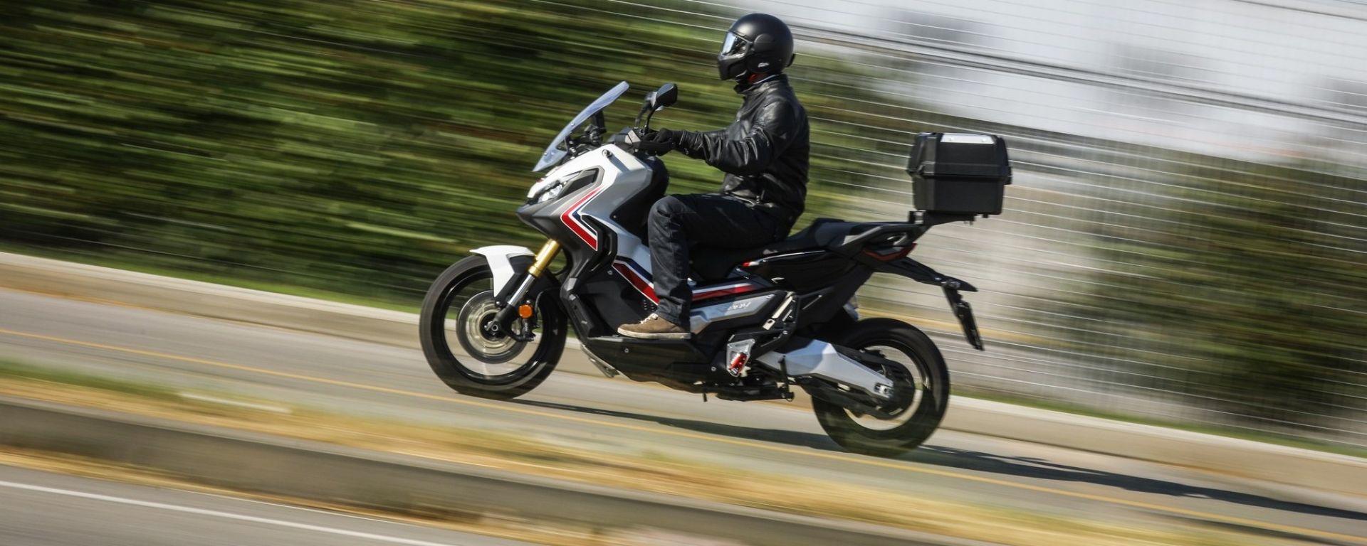 Honda X-ADV ha una progressione entusiasmante