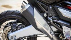 Honda X-ADV: lo scarico