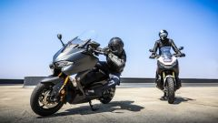 Honda X-ADV vs Yamaha TMAX 2017: le due anime: lo sportivo e l'off -road