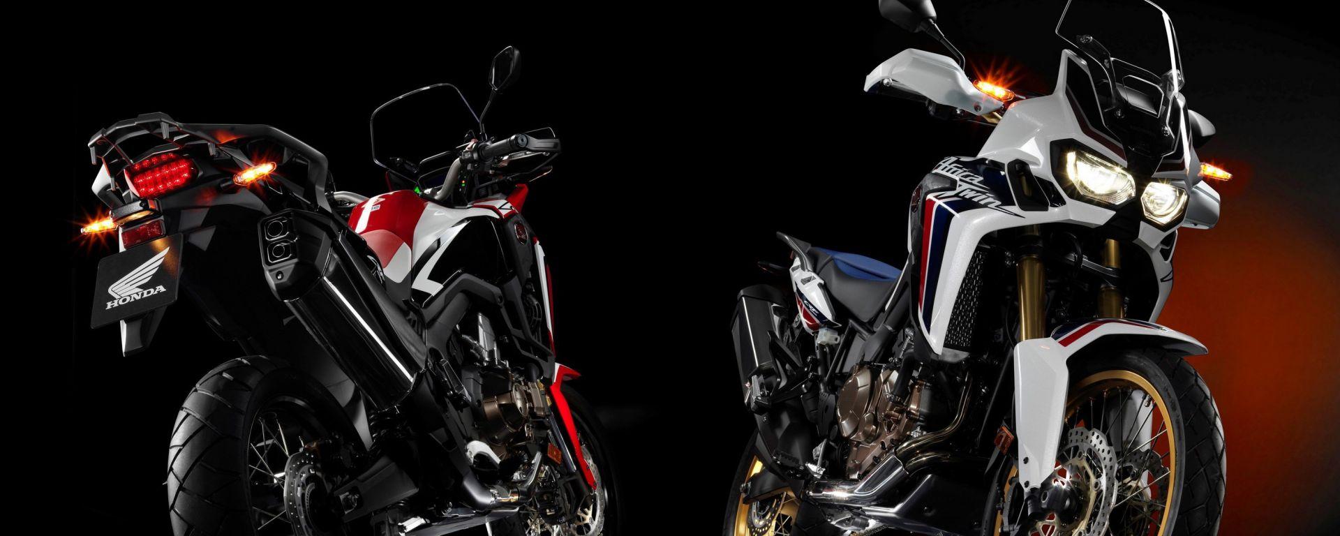 Honda X Spidi: la collezione si ispira alla nuova Africa Twin