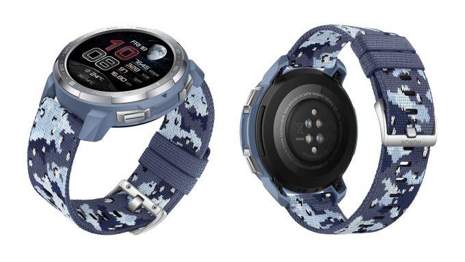 Honor Watch GS Pro: colorazione Camo Blue