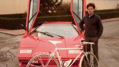 Horacio Pagani quando lavorava in Lamborghini
