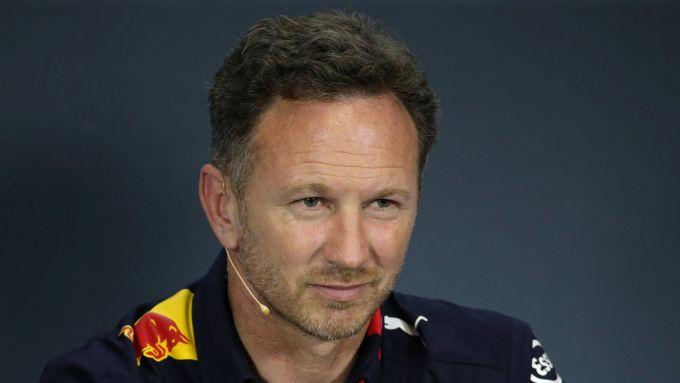 Horner (Red Bull) in conferenza stampa in Ungheria