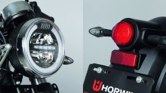 Horwin CR6, le luci sono a LED