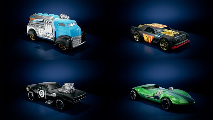 Hot Wheels Unleashed: alcune delle macchinine del gioco