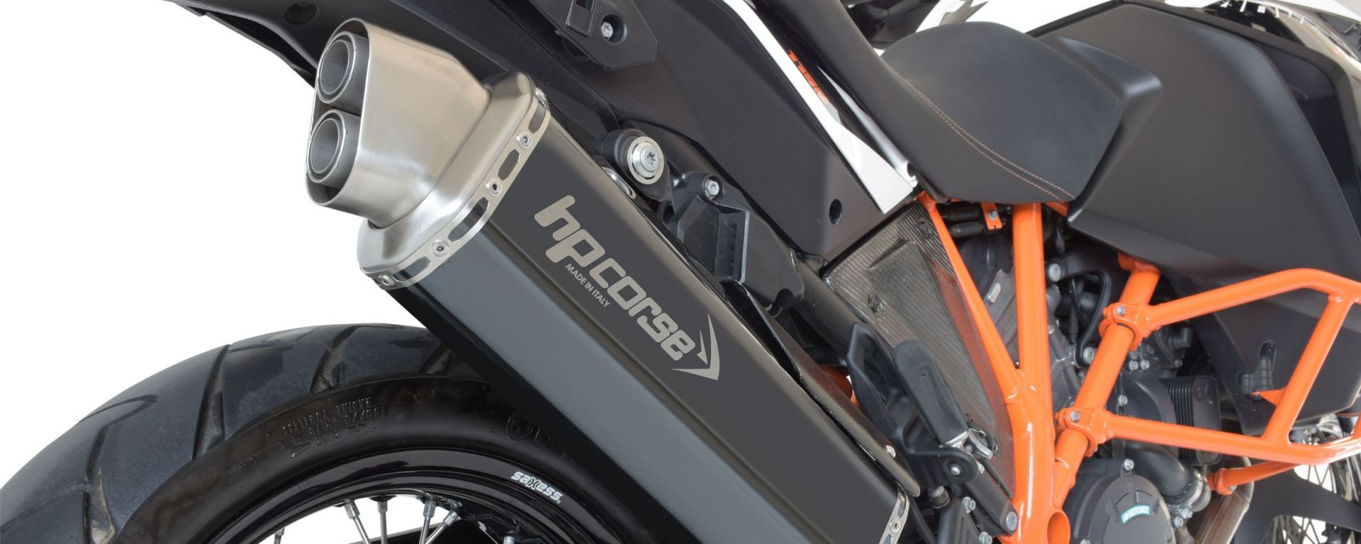 HP Corse 4Track: lo scarico aftermarket per KTM Adventure