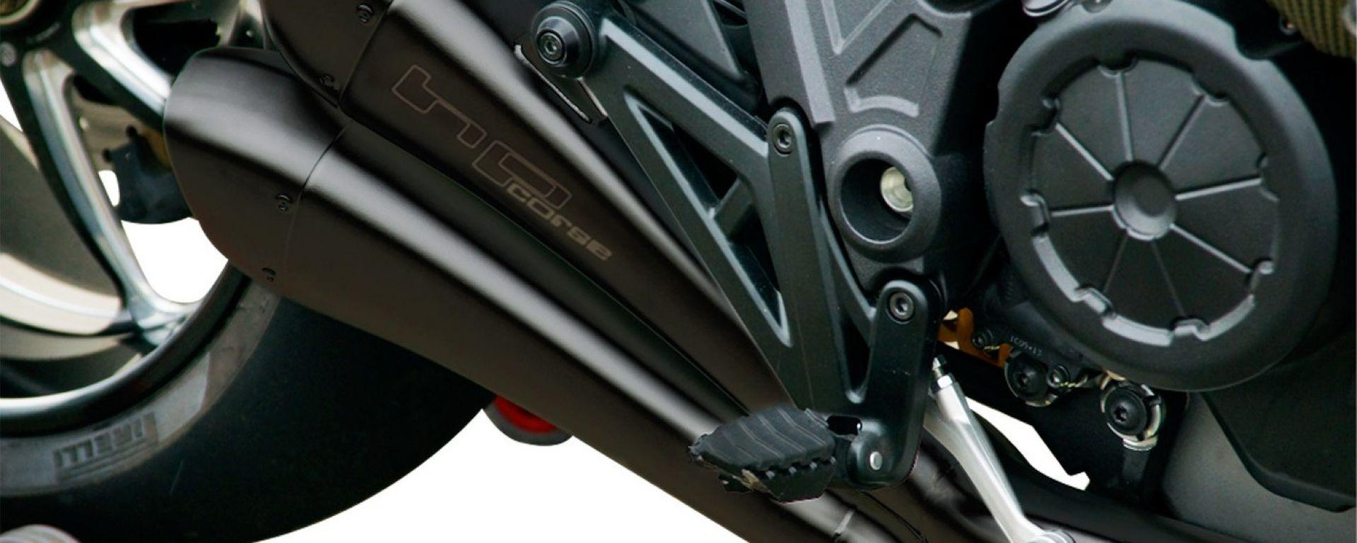 HP Corse: scarico Hydroform black