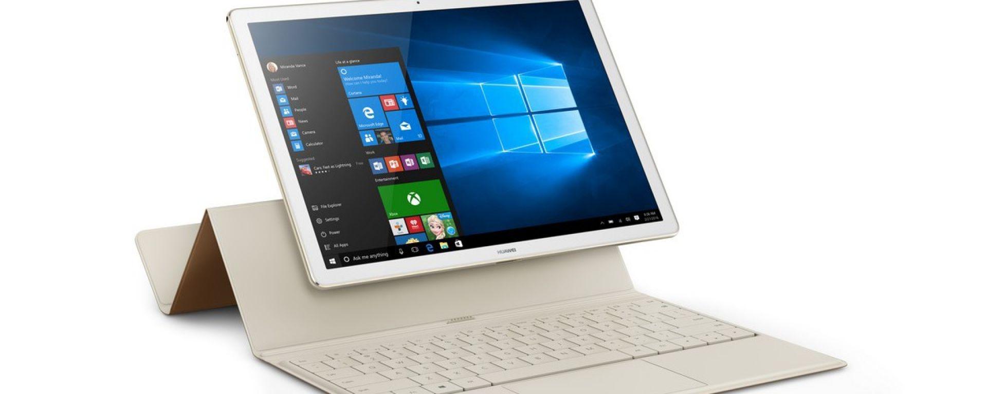 Huawei MateBook: il pc del futuro