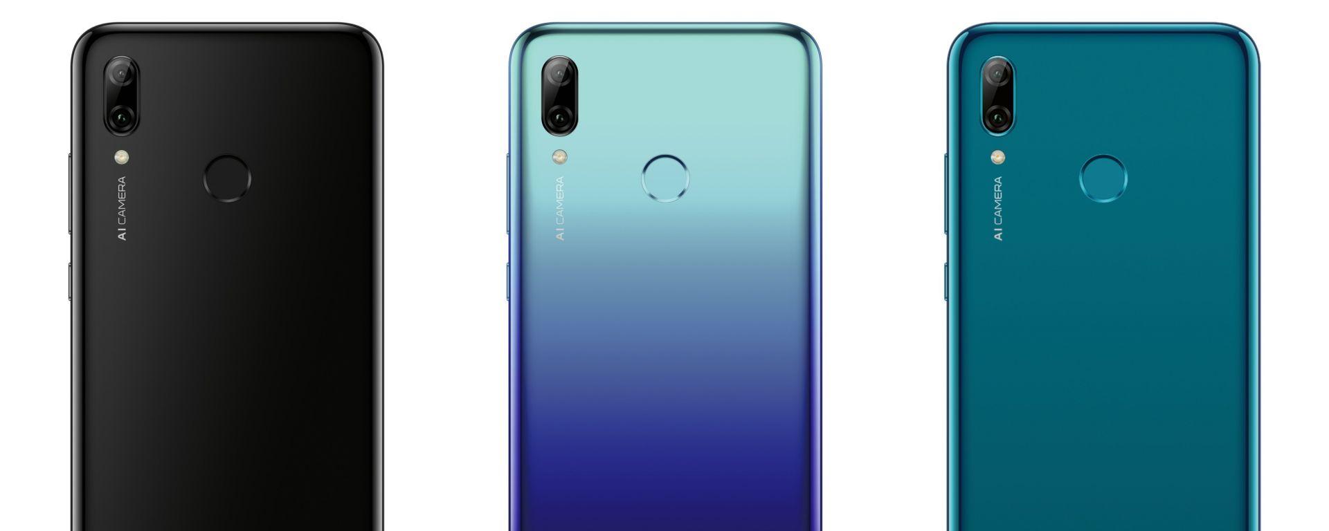 Huawei P Smart 2019: i colori