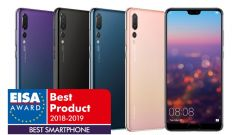 Huawei P20 Pro vince il titolo EISA Best Smartphone 2018-2019