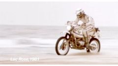 Hubert Auriol su BMW R 80 G/S, Parigi-Dakar 1981