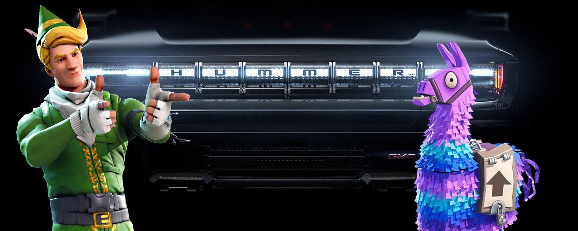 Hummer EV: la collaborazione con Epic Games