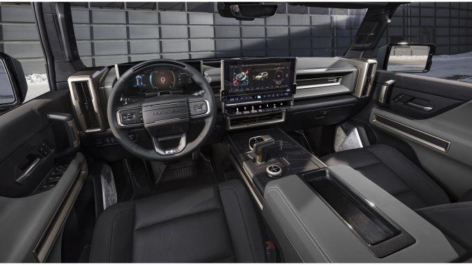Hummer EV SUV: interni