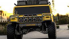 Hummer H1 2025: il rendering frontale della versione civile