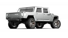 Hummer H1 2025: rendering del pickup