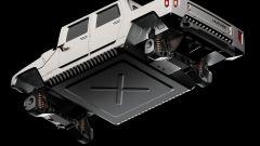 Hummer H1 2025: vista inferiore del rendering