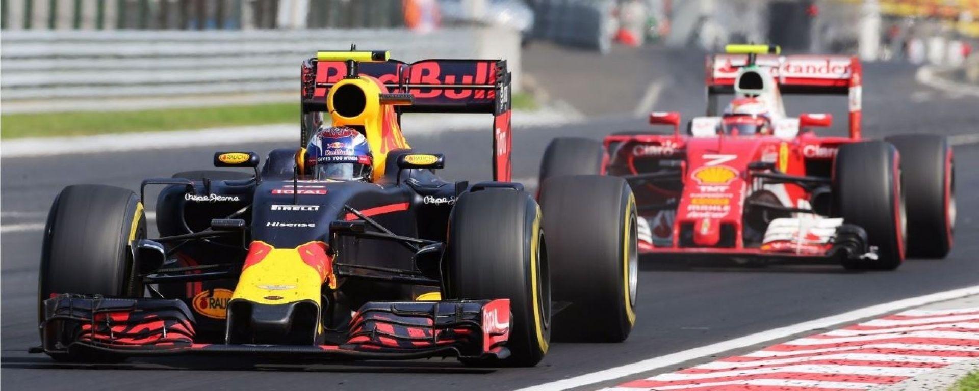 Hungaroring - Max Verstappen vs Kimi Raikkonen 2016