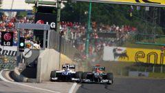 Hungaroring - Michael Schumacher vs Rubens Barrichello 2010