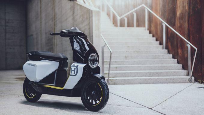 Husqvarna Vektorr: il primo scooter elettrico del marchio