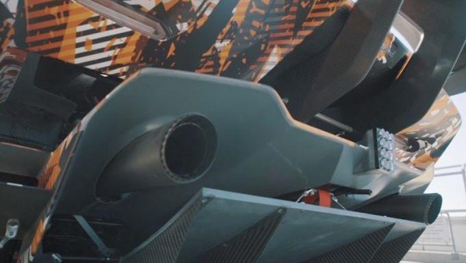 Hypercar Lamborghini Squadra Corse: dettaglio del diffusore posteriore