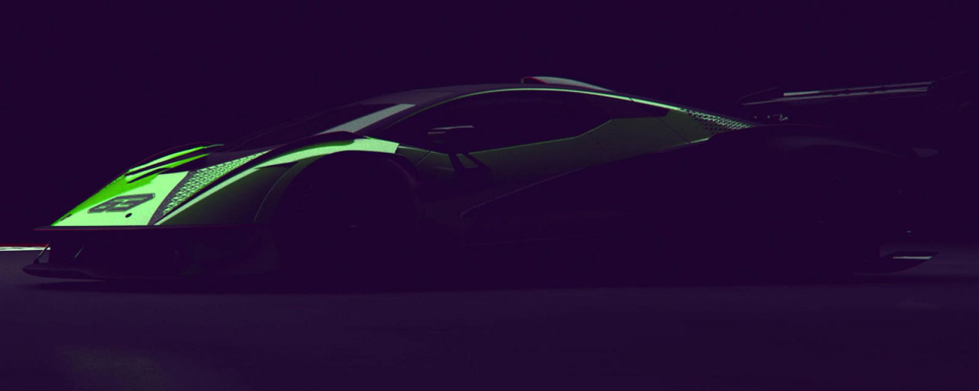Hypercar Lamborghini Squadra Corse V12: il teaser