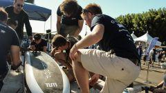 Hyperloop Pod Competition: tecnici del team Warr al lavoro