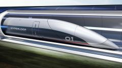 Hyperloop: un rendering del convoglio supersonico