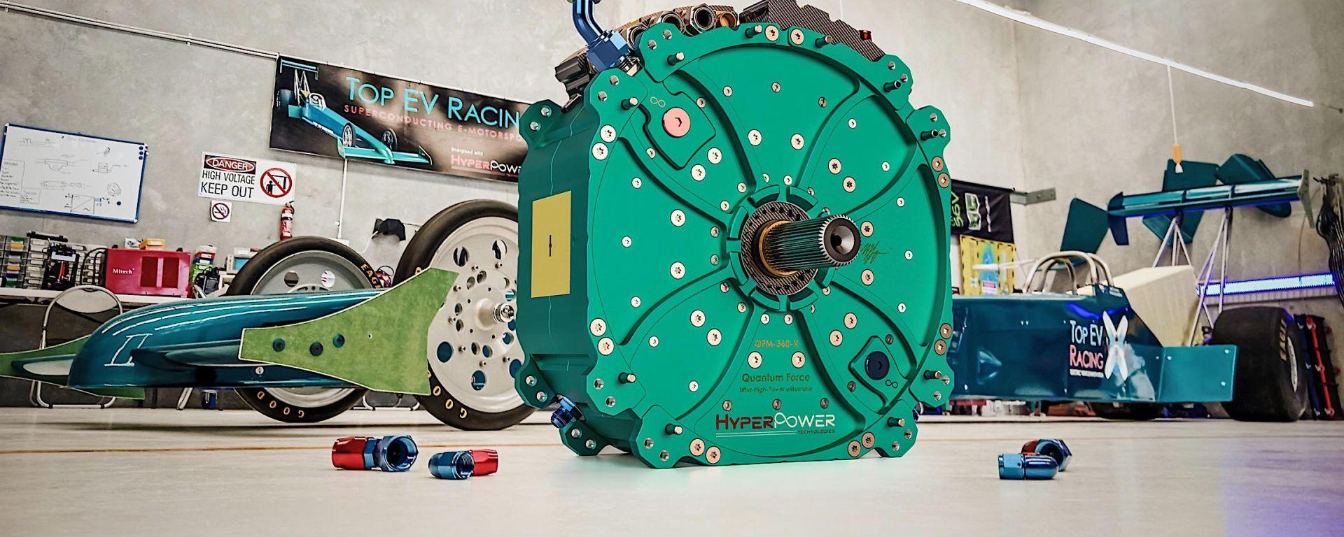 HyperPower Technologies, motore elettrico da 1.340 cv