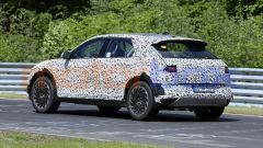 Hyundai 45 EV 2021, foto spia: manca l'incavo sottoporta